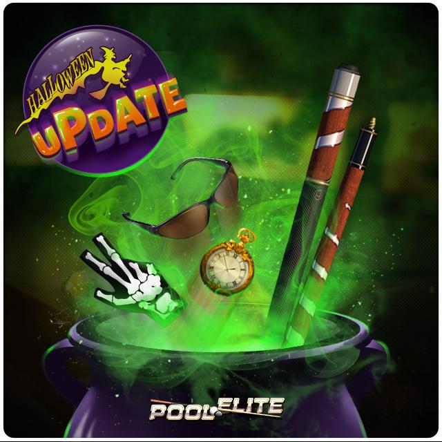 pool elite halloween update image