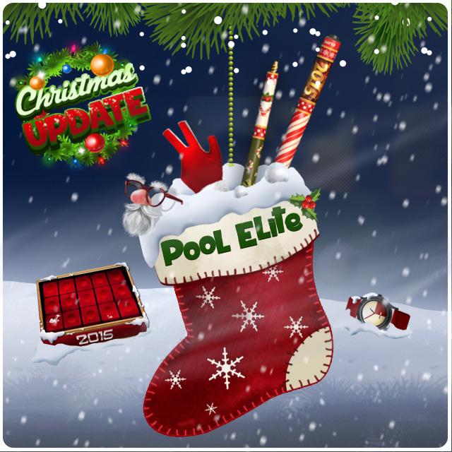 new year christmas update pool elite